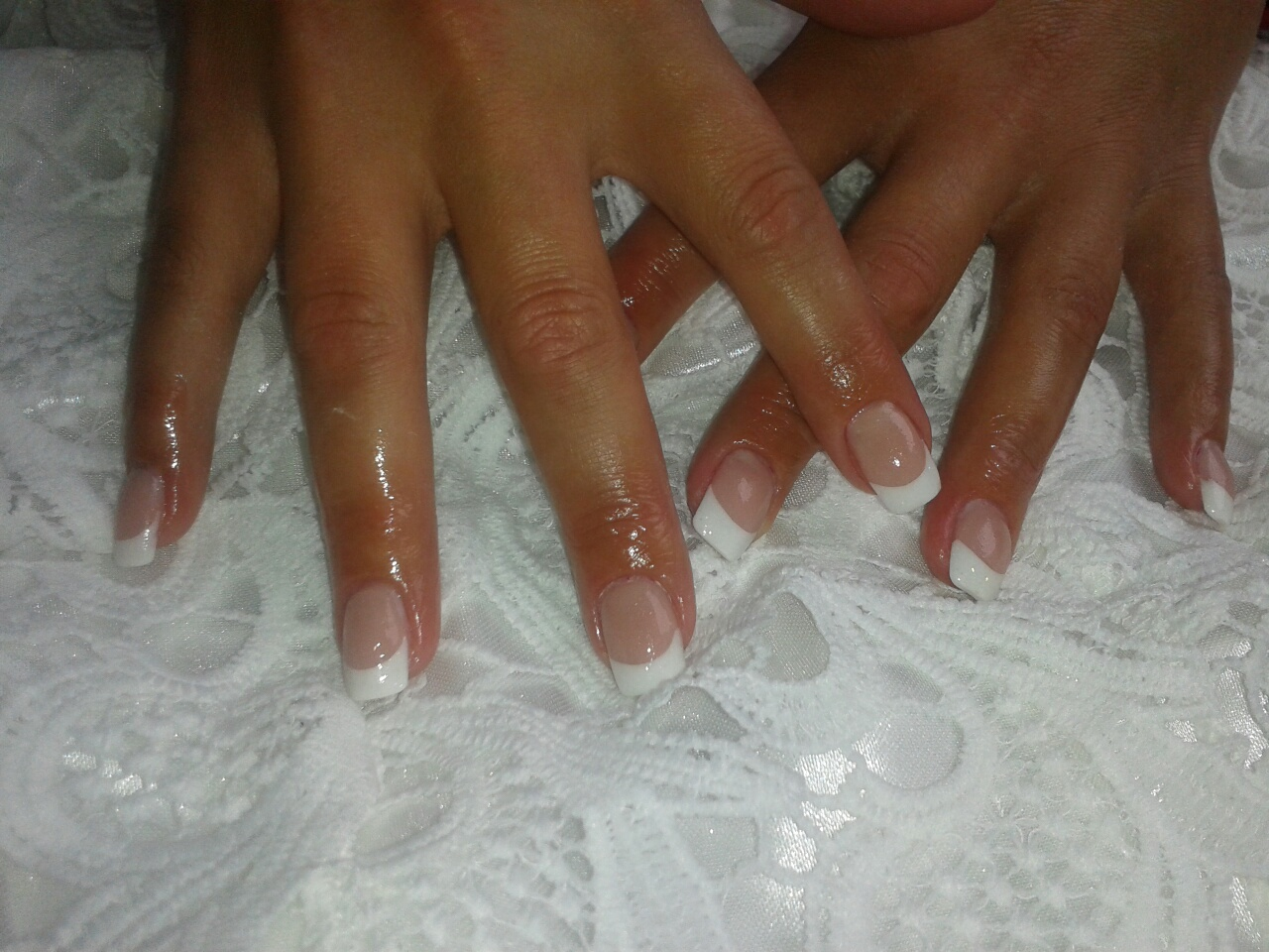 Nagel met witte french resized